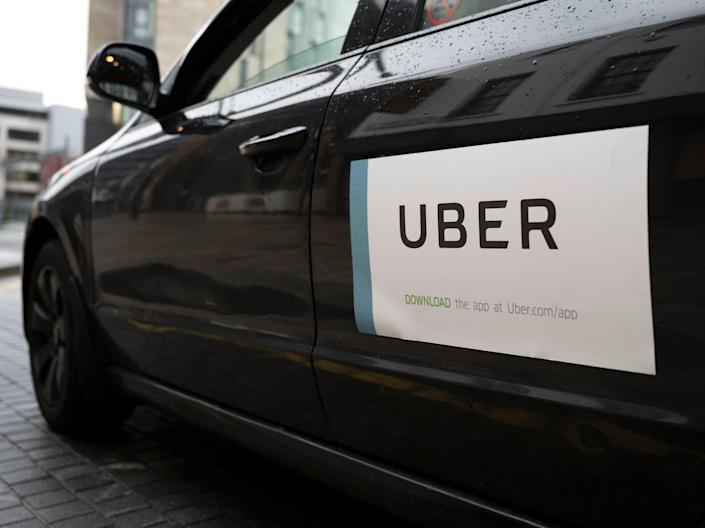 <p>Uber has agreed to recognise a trade union for the first time in a landmark deal </p> (Matthew Horwood/Getty Images)