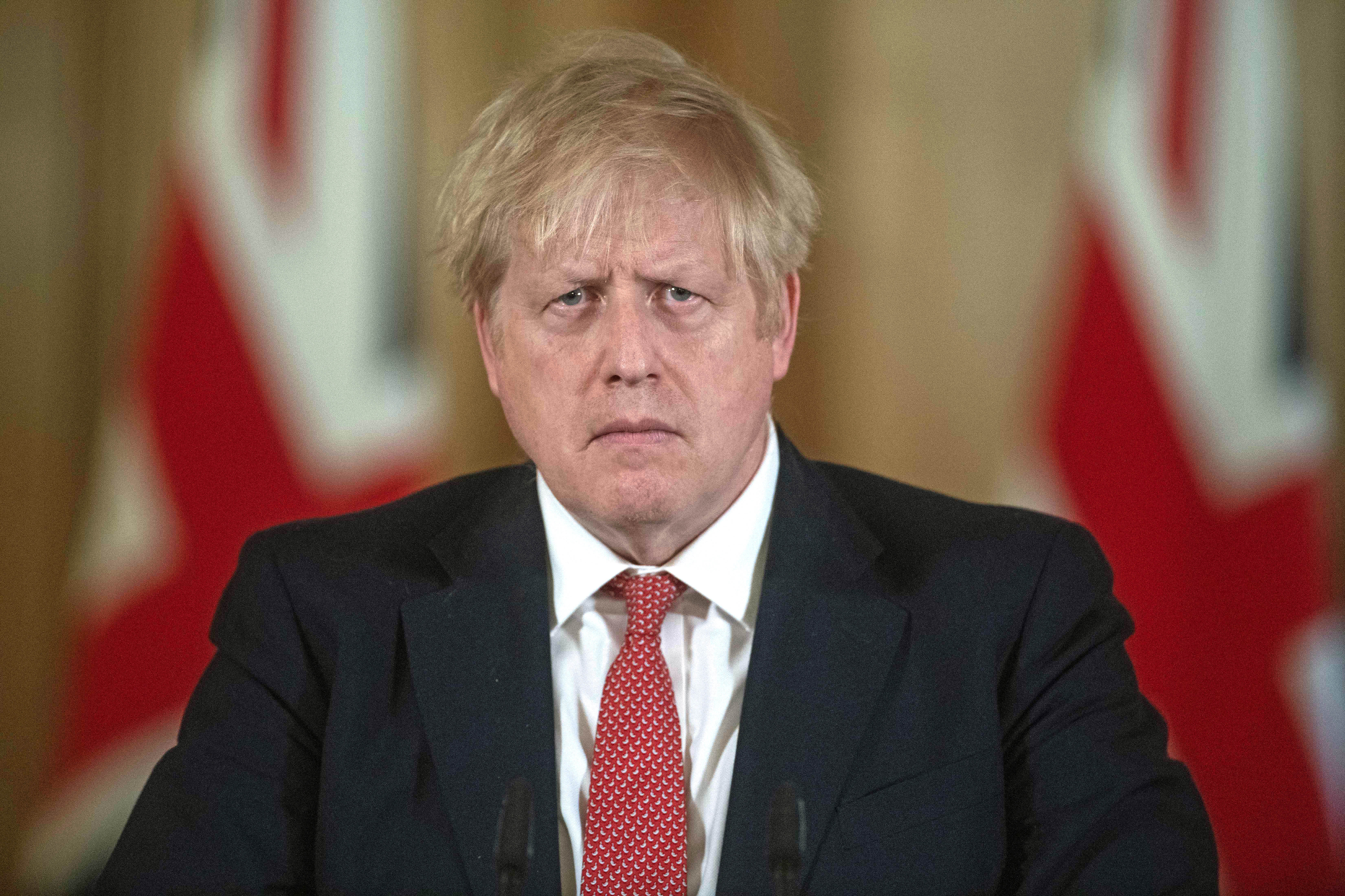 British Leader Boris Johnson in Intensive Care at London Hospital