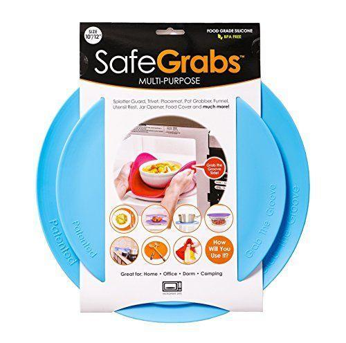"<p><strong>Safe Grabs</strong></p><p>amazon.com</p><p><strong>$27.95</strong></p><p><a href=""https://www.amazon.com/dp/B01M0KFBM7?tag=syn-yahoo-20&ascsubtag=%5Bartid%7C10055.g.34275546%5Bsrc%7Cyahoo-us"" rel=""nofollow noopener"" target=""_blank"" data-ylk=""slk:Shop Now"" class=""link rapid-noclick-resp"">Shop Now</a></p><p>Who hasn't accidentally scorched their hand while trying to remove a surprisingly hot bowl from the microwave. Give yourself (and your hands) some peace of mind by picking up these versatile silicone mats from Safe Grabs. Whether you're grabbing something out of the microwave or need <a href=""https://www.tiktok.com/@amazonsbest/video/6862375982527974661"" rel=""nofollow noopener"" target=""_blank"" data-ylk=""slk:some extra friction to open up a stubborn can,"" class=""link rapid-noclick-resp"">some extra friction to open up a stubborn can,</a> this affordable pick is the gift that keeps on giving. </p>"