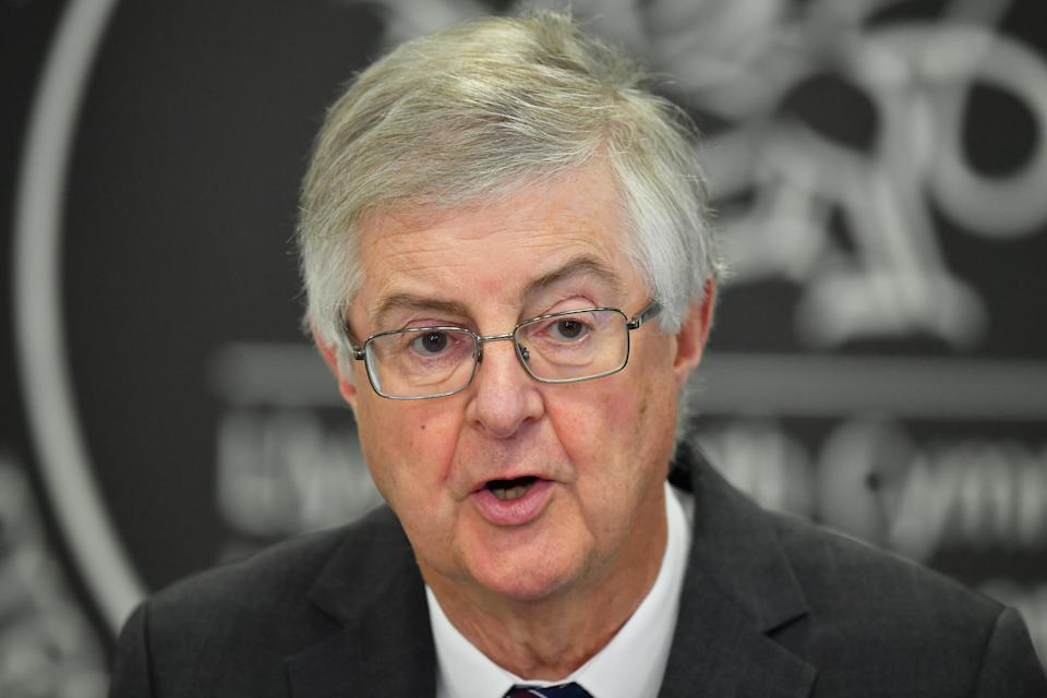 Welsh First Minister Mark Drakeford complained about a lack of communication with Prime Minister Boris Johnson (Ben Birchall/PA)