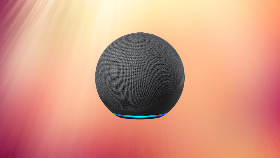 Score the Echo Dot 4 for 25 bucks on Prime Day — the lowest price ever! (Photo: Amazon)