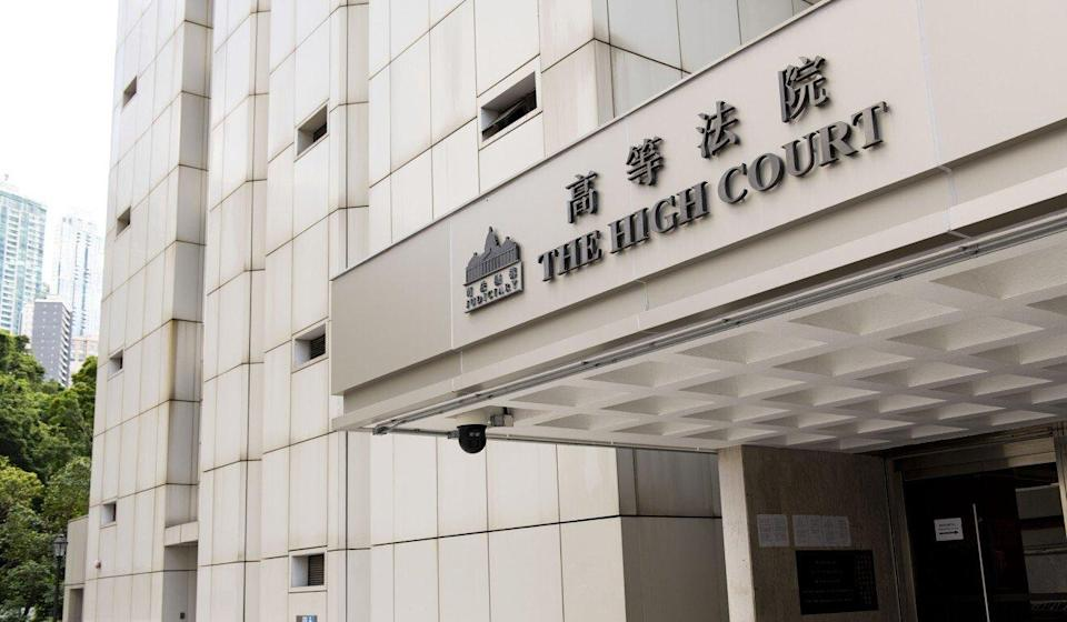 The prosecution told the High Court on Wednesday that the slogan 'Liberate Hong Kong; revolution of our times' cast Beijing as an 'enemy'. Photo: Warton Li