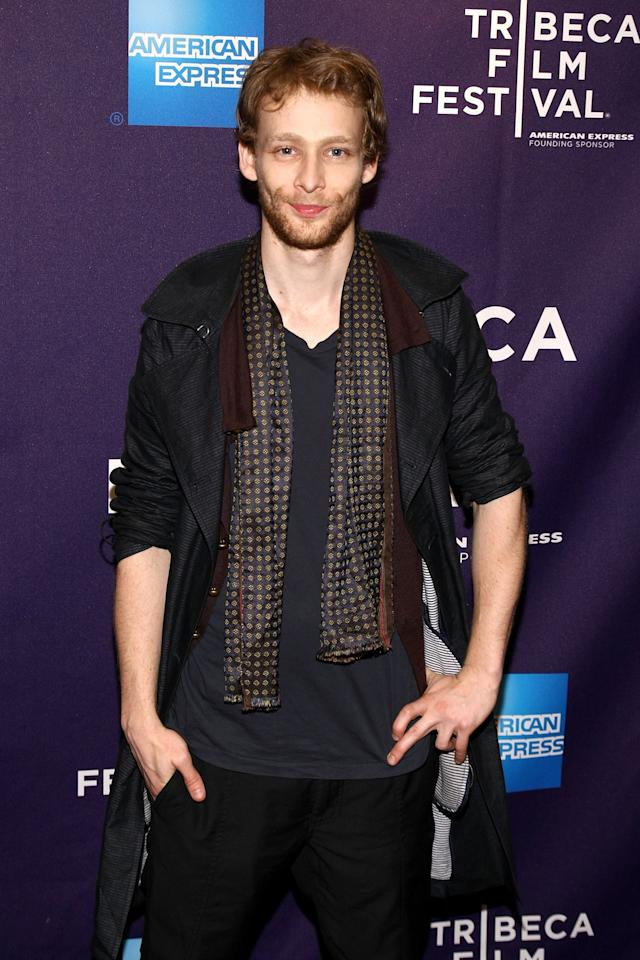 "NEW YORK, NY - APRIL 23:  Actor Johnny Lewis attends the premiere of ""Magic Valley"" during the 2011 Tribeca Film Festival at Clearview Cinemas Chelsea on April 23, 2011 in New York City.  (Photo by Neilson Barnard/Getty Images)"