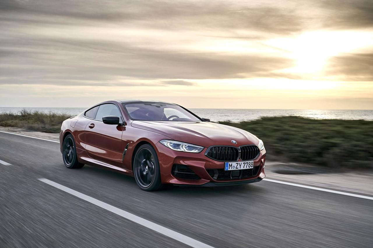 """<p>BMW M famously avoids unnecessary tech on its full M cars, only recently capitulating to xDrive four-wheel drive when power figures grew beyond what good tires and average drivers could manage with just two driven wheels. And it's the same story with four-wheel steering. The M5 goes without, but the M850i is fully down with the tech, using it to do the now-usual trick of turning the rear wheels in the opposite direction to the fronts at lower speeds (up to 45mph in Comfort mode; 55mph in Sport), then in parallel, with the speedo needle bent further around the new, rather ugly digital dial. </p><p>Unlike some systems, this one's pretty subtle. On mountain roads you can feel it help twist that long nose into turns–and with a 4478lb curb weight you'll take every bit of help you can get. But on the track at 120mph-plus speeds it makes the M850i feel a whole lot more locked down than the M5. That also means it's less overtly playful, a characteristic reinforced by the stability control's midway DTC setting, which is less liberal than on other BMWs.</p><p><em>Read the rest of our new 8-Series review <a rel=""""nofollow"""" href=""""https://www.roadandtrack.com/new-cars/first-drives/a24519484/2019-bmw-m850i-review/"""">here</a>. </em></p>"""