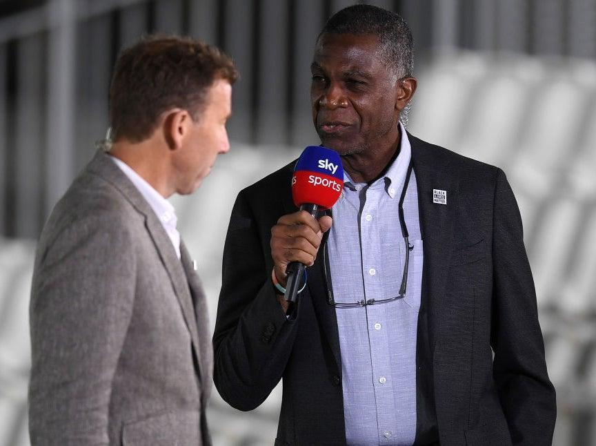 Michael Holding spoke powerfully of his experiences of racism within cricketGetty Images for ECB