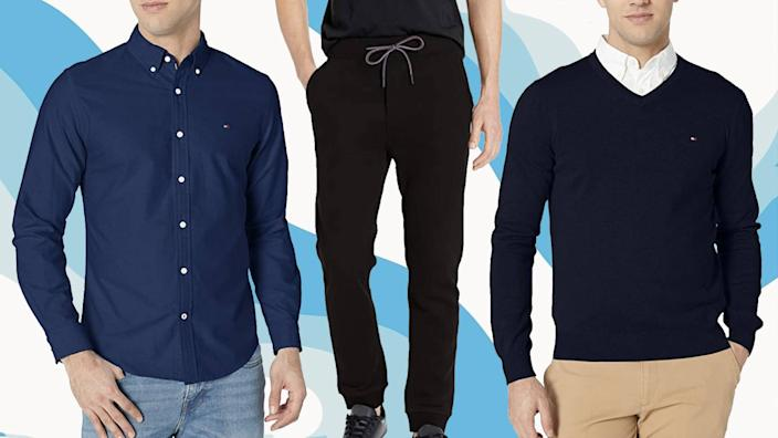Save up to 60 percent on Tommy Hilfiger fashion staples for fall and winter — today only. (Photo: Amazon)