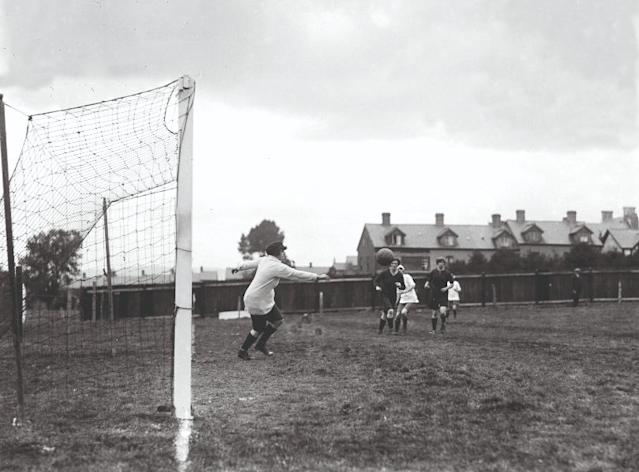 In 1921, the FA declared football quite unsuitable for females and outlawed the sport. With this months World Cup expected to attract more attention than ever before, Carrie Dunn looks at how far the game was set back