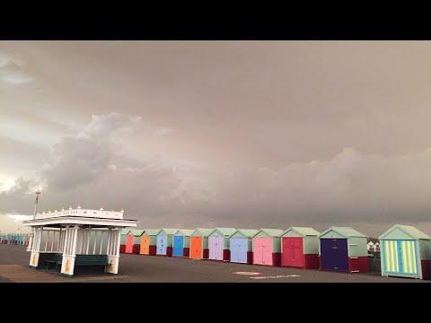 "<p>The seafront at Brighton is a popular tourist destination throughout the year, though on October 16, the area was virtually deserted, as footage uploaded to YouTube shows.</p><p>Ex-hurricane Ophelia caused <a href=""http://www.brightonandhovenews.org/2017/10/16/ophelia-plunges-brighton-into-orange-gloom/"" target=""_blank"">Brighton</a> and other areas of southern Britain to be caked in an orange glow, with Met Office forecaster Grahame Madge explaining: ""Air is being pulled from southern Europe and Africa and that air contains a lot of dust.""</p><p>Footage from Brighton-based YouTube user CarolineD shows the contrast between some of the town's brightly-colored huts which sit along the seafront area, and the ""foreboding sky,"" as the YouTube user put it. Credit: YouTube/CarolineD via Storyful</p>"