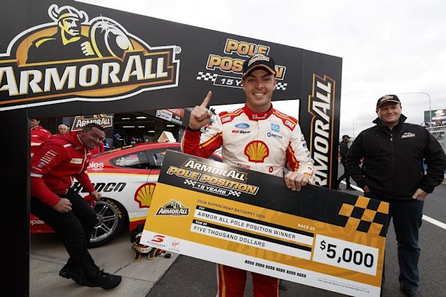 McLaughlin seals Bathurst pole with record lap