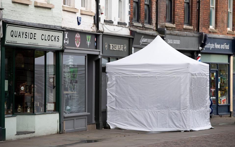 Police are to begin excavations at the cafe in the Gloucester