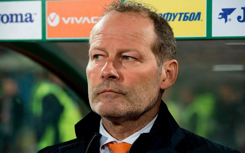 Former Holland manager Danny Blind - AFP