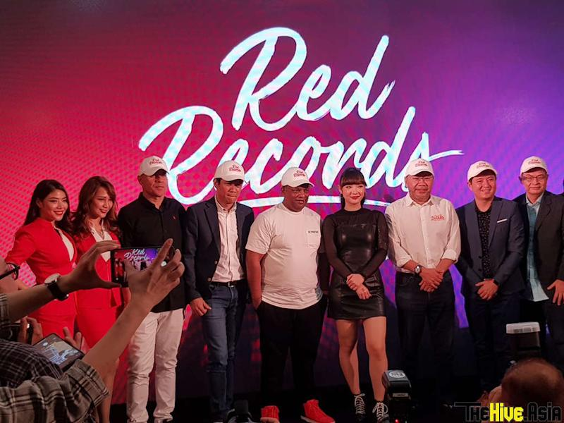 AirAsia Group and Universal Music Group launch their new record label, RedRecords, earlier today in Kuala Lumpur.
