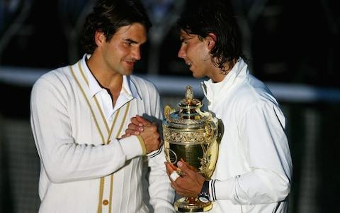 <span>It's a trip down memory lane for Federer and Nadal at Wimbledon</span> <span>Credit: Getty Images </span>