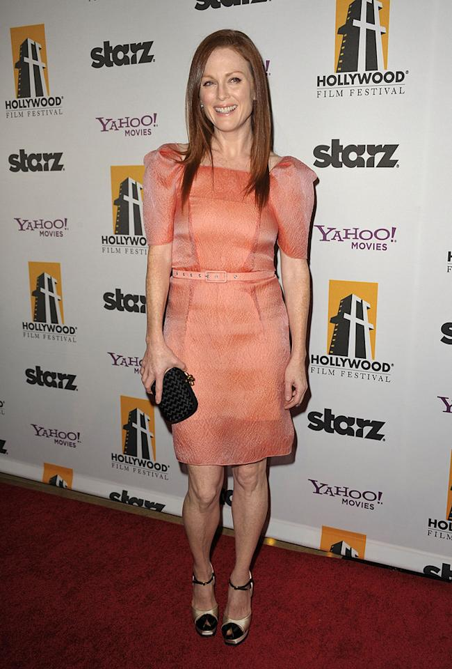 """<a href=""""http://movies.yahoo.com/movie/contributor/1800020233"""">Julianne Moore</a> at the 13th Annual Hollywood Awards Gala held at the Beverly Hilton Hotel - 10/26/2009"""
