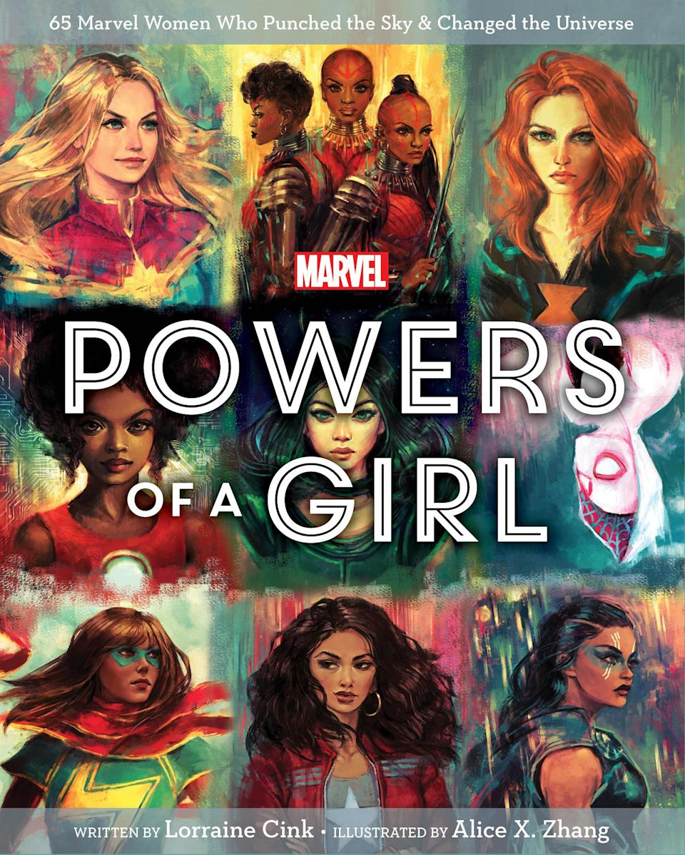 <span><em>Powers of a Girl</em> ($16.99) explores the female heroes of the Marvel Universe. </span>(Photo: Disney)