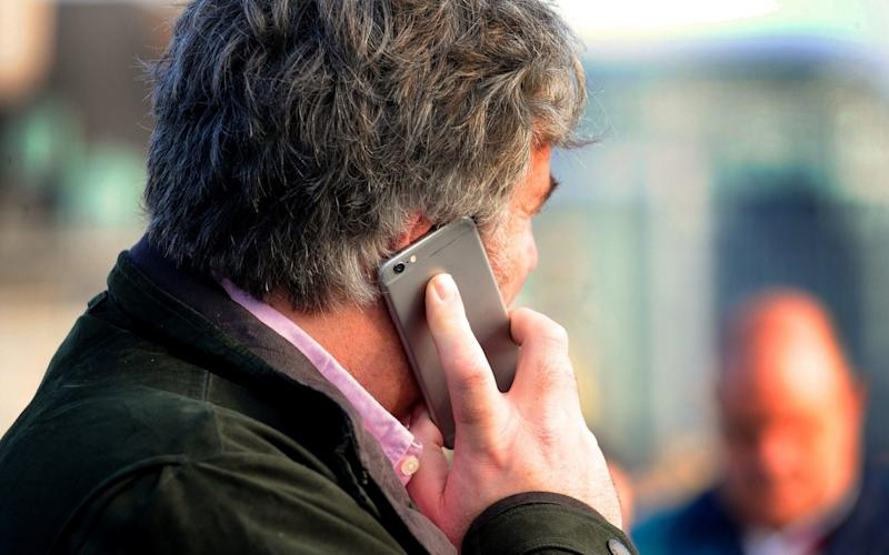 A quarter of mobile phone users make less than five standard calls a month - PA