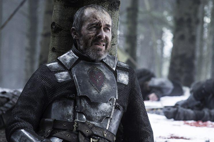 Stephen Dillane as Stannis Baratheon in the Season 5 finale of 'Game of Thrones' (Credit: HBO)