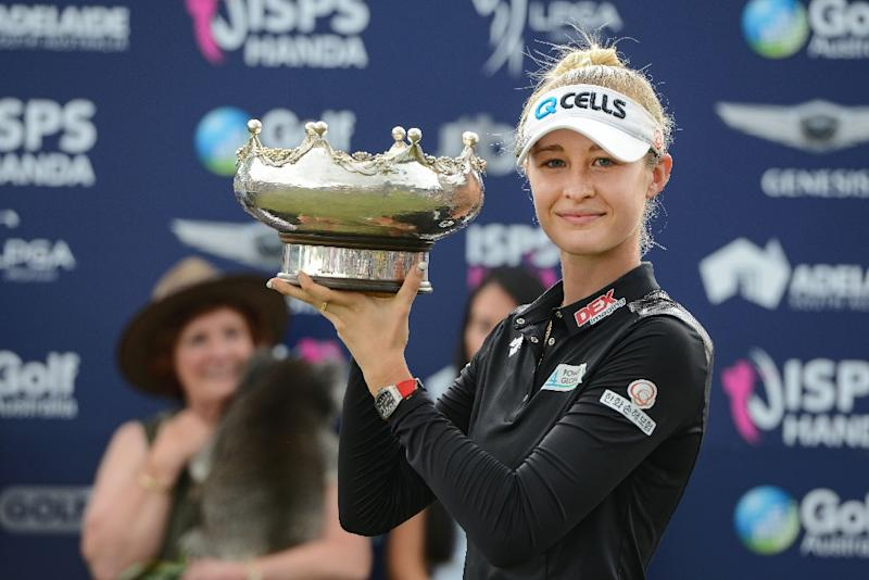 Nelly Korda keeps it in the family to win LPGA Australian Open