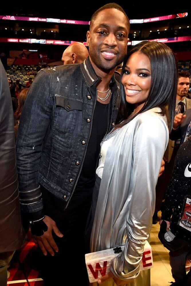 Dwayne Wade and Gabrielle Union   Kevin Mazur/Getty Images