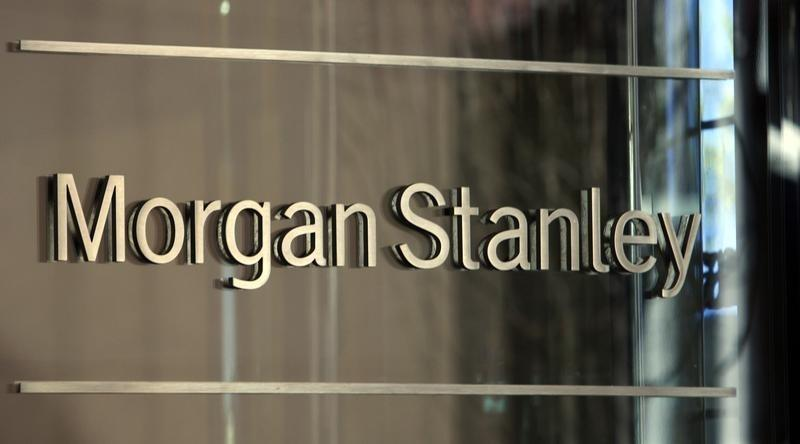 Investment bank Morgan Stanley is pictured in New York City