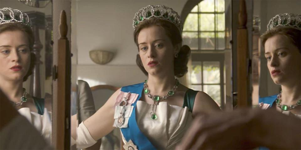Claire Foy as The Queen in Netflix The Crown