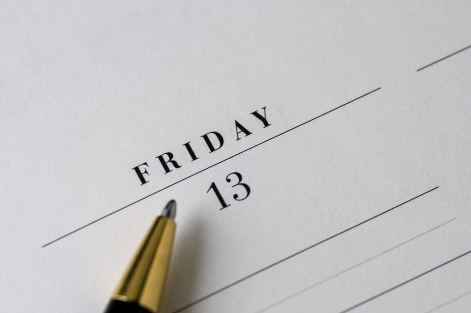 Friday the 13th is widely believed to be the unluckiest date in the calendar [Photo: Pexels]
