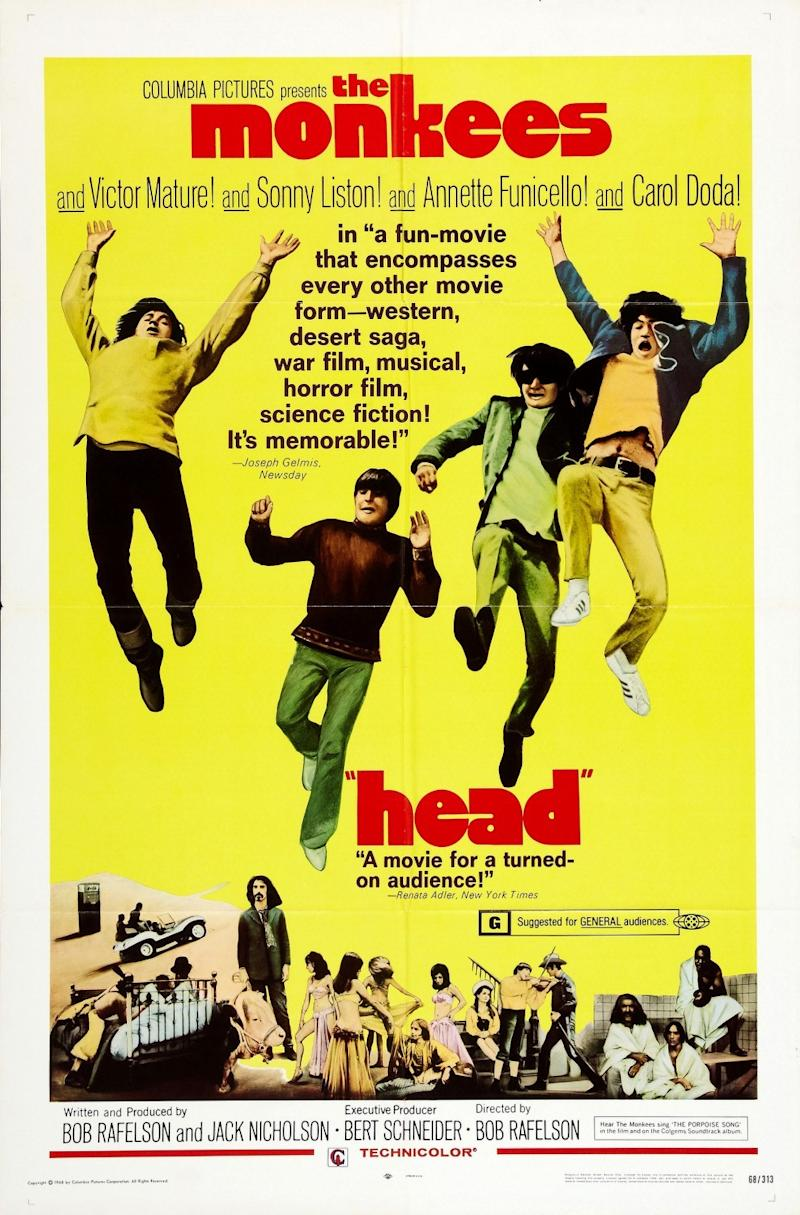 Head: The Incredible Story Of The Mad Film That Destroyed