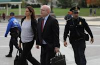 Philip Reeker, U.S. acting assistant secretary of state for European and Eurasian Affairs, arrives to testify in impeachment inquiry against U.S. President Donald Trump, in Washington