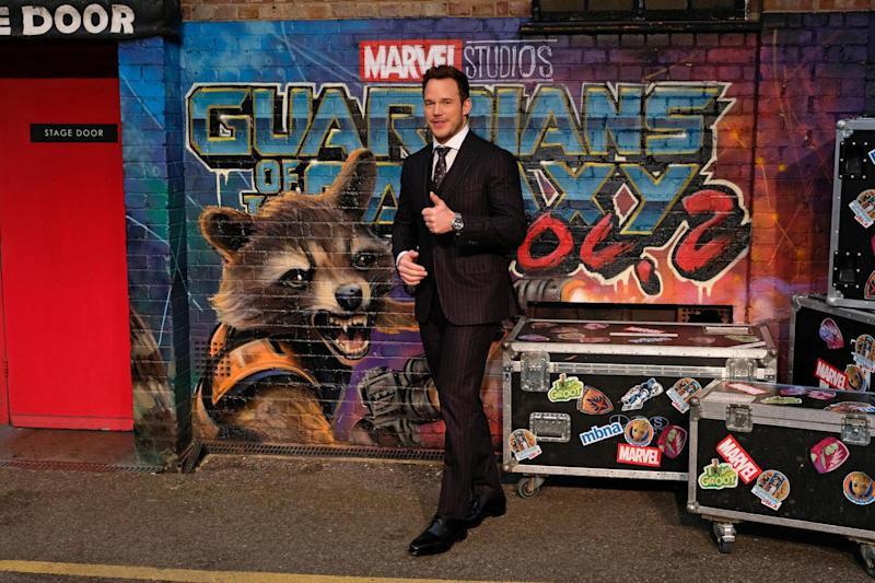 "Fatherhood: Chris Pratt attends the European Gala screening of ""Guardians of the Galaxy Vol. 2"": Dave Benett"