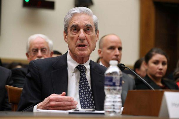 PHOTO: Former Special Counsel Robert Mueller testifies before the House Judiciary Committee about his report on Russian interference in the 2016 presidential election in the Rayburn House Office Building July 24, 2019 in Washington. (Chip Somodevilla/Getty Images)