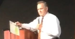 "<p>Roy Moore, a Republican candidate for a US Senate seat from Alabama, appeared to use racially insensitive words to describe Native Americans and Asians during a campaign appearance in Florence on Sunday, September 17.</p><p>Moore, one of two Republicans in the primary runoff next week, was speaking about how the country was torn apart during the Civil War and not much as changed.</p><p>""Now we've got blacks and whites fighting, reds and yellows fighting, Democrats and Republicans fighting, men and women fighting. What's going to unite us? What's going to bring us back together? A president? A Congress? No. It's going to be God.""</p><p>The Hill <a href=""http://thehill.com/homenews/campaign/351194-roy-moore-refers-to-red-and-yellow-americans-in-campaign-speech"" target=""_blank"">first reported</a> the comments after a Republican monitoring the race sent the outlet the video. Moore's campaign also livestreamed the speech, and the comments are at about the 31:20 mark into the video.</p><p>Moore leads Luther Strange in polling ahead of the primary, the Hill reported. The winner would advance to the general election to face a Democrat to fill former US Senator Jeff Sessions' seat, who is resigned to become attorney general.</p><p>Moore was chief justice of the Alabama Supreme Court until he was removed from office in 2003 for violating a federal court order to remove a monument of the Biblical Ten Commandments from the state judiciary building. He was reelected to the post ten years later but was suspended in 2016 for telling probate judges to enforce a state ban on same-sex marriage after it had been overturned in federal court. He unsuccessfully appealed the suspension and resigned earlier this year to run for the seat formerly held by current US Attorney General Jeff Sessions. Credit: Judge Roy Moore for US Senate via Storyful</p>"