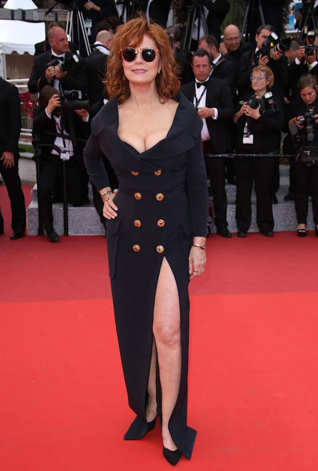 <p>Oh wow. Susan couldn't have looked better if she tried.<i>[Photo: Rex]</i></p>