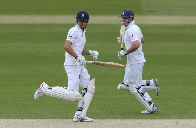 Sir Alastair Cook (left) and Sir Andrew Strauss (right) both saw their numbers dip after their 30th birthdays.