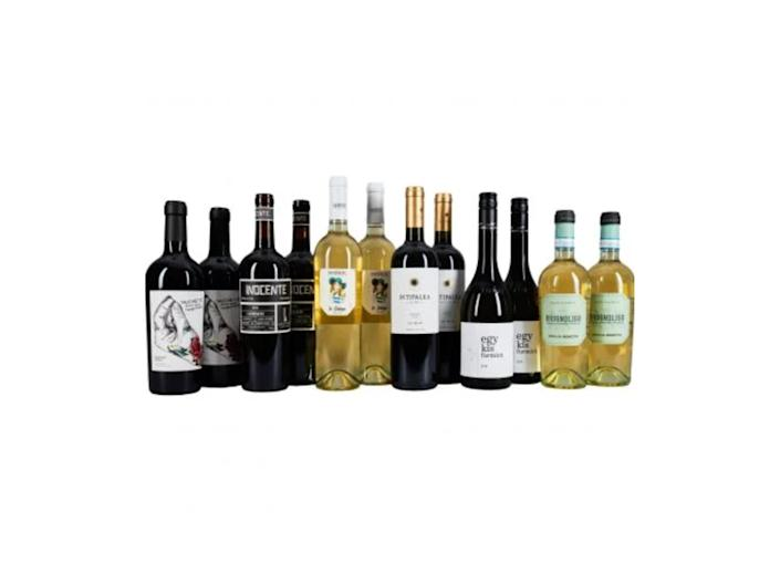 <p>There's a huge selection of wines to shops from the merchant</p>Corney & Barrow