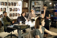 """<p><b>What's Coming Up:</b> After a successful and acclaimed first season, creator Sarah Shapiro didn't intend to make Season 2 crazier… but she did. """"The second season is about living like kings and when women try to live like men,"""" she says. Quinn (Constance Zimmer) got a promotion and now Rachel (Shiri Appleby) is running <i>Everlasting</i>, and the two women start out with a tight bond cemented by matching tattoos that read """"Money Dick Power."""" But when Chet (Craig Bierko) returns to the action, they start battling again for control of their show.<br><br><b>Black Power:</b> Rachel comes up with the idea to cast a black suitor on <i>Everlasting</i> for the first time — unlike <i>The Bachelor</i>. Shapiro wanted to reflect the issues of today's real world, and it also fit in with Rachel's journey on <i>UnREAL</i>. """"She's stuck in this terrible job and she hates her life, so I think for her, she'd want to figure out a way to make her life mean something,"""" she explaind. Of course, this is Rachel, and """"watching her try to do something important, it always backfires."""" <i>— Kelly Woo</i><br><br><i>(Credit: Lifetime)</i> </p>"""