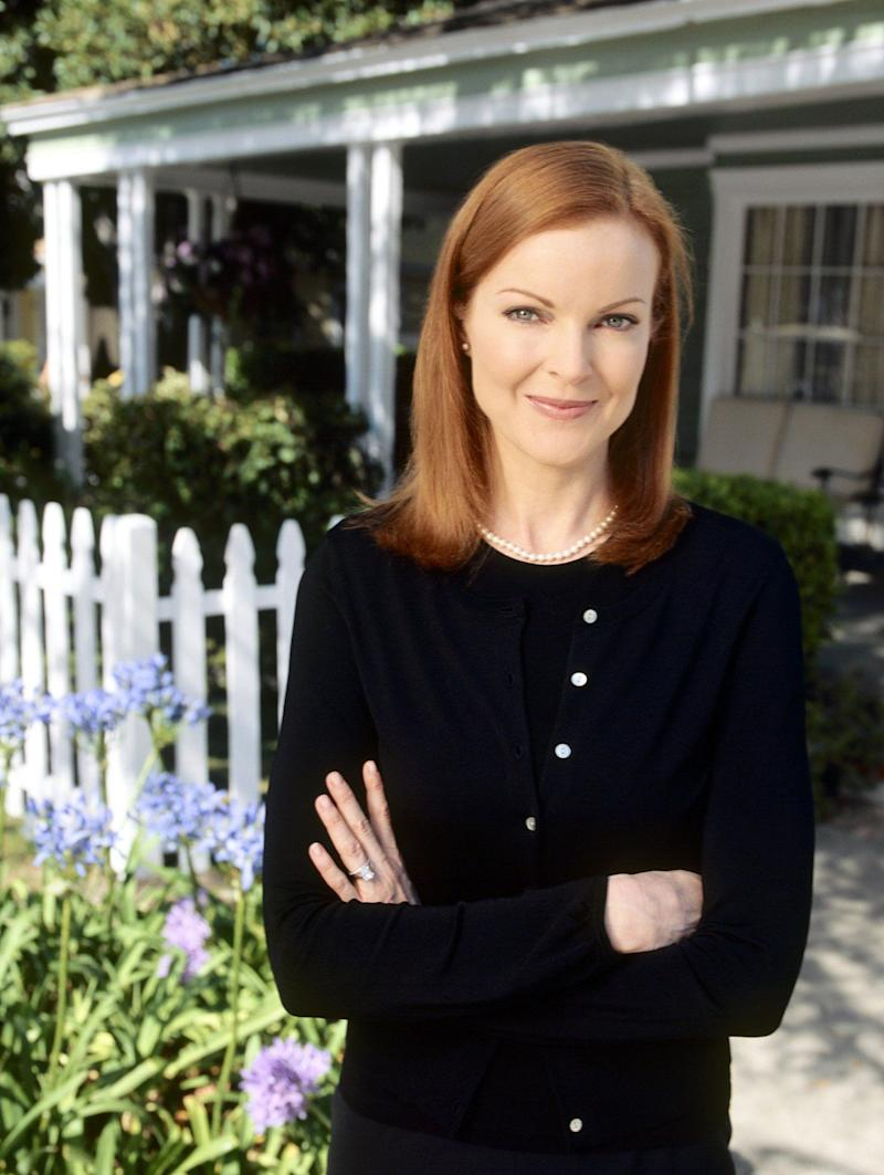 Conservative, traditional and obsessed with how things appeared to the outside world, Bree was one of the show's central characters, appearing in all eight series.<br /><br />She did take a brief break in the middle of the show's run, when Marcia Cross went on maternity leave (which was just as well, because they were starting to run out of household items to hide her pregnant stomach behind).