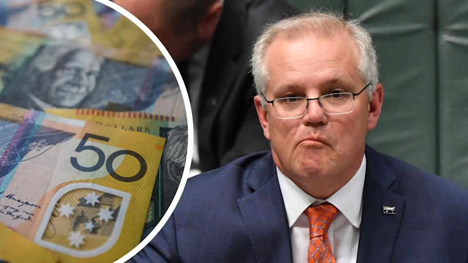 Scott Morrison has suggested Australians earning $180,000 a year aren't rich. Images: Getty