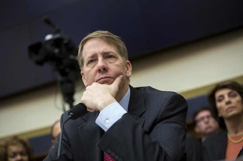 The Consumer Financial Protection Bureau, headed by Richard Cordray (pictured), issued new rules limiting mandatory arbitration. Republicans are pushing bills to overturn the rules. (Bloomberg via Getty Images)