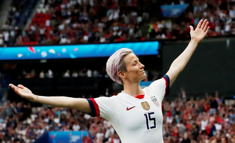 World Cup winner Rapinoe opts out of NWSL fall series