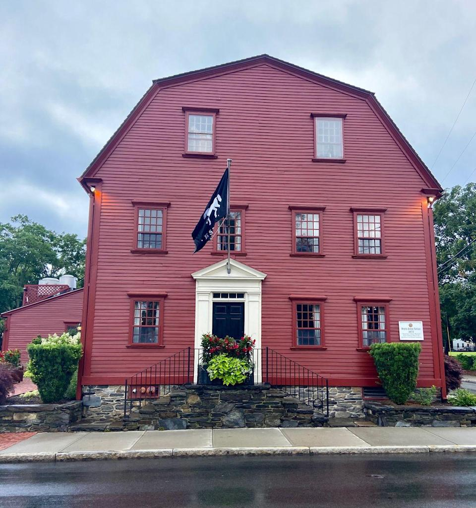"""<p>Foodies and history buffs alike will be enchanted by <a href=""""https://whitehorsenewport.com/"""" rel=""""nofollow noopener"""" target=""""_blank"""" data-ylk=""""slk:The White Horse Tavern"""" class=""""link rapid-noclick-resp"""">The White Horse Tavern</a>, acknowledged as the oldest operating restaurant in the U.S. and as the 10th oldest restaurant in the world. It's also just a five-minute walk from the hotel.</p><p>While the architecture will make you feel as if you've stepped back in time to 1673, the menu features modern takes on New England cuisine and features produce and meats sourced from around the region. The White Horse Tavern also has an award-winning wine menu that includes classic labels and up-and-coming names. Be sure to make a reservation as tables fill up fast.</p>"""