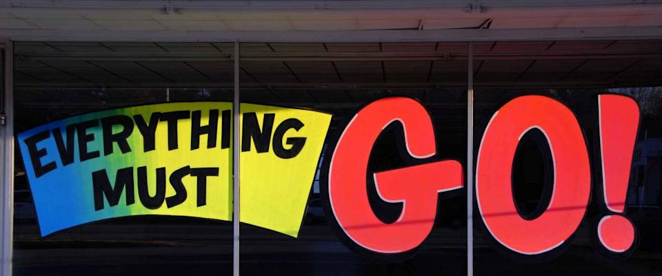 Going out of Business - Everything Must Go!
