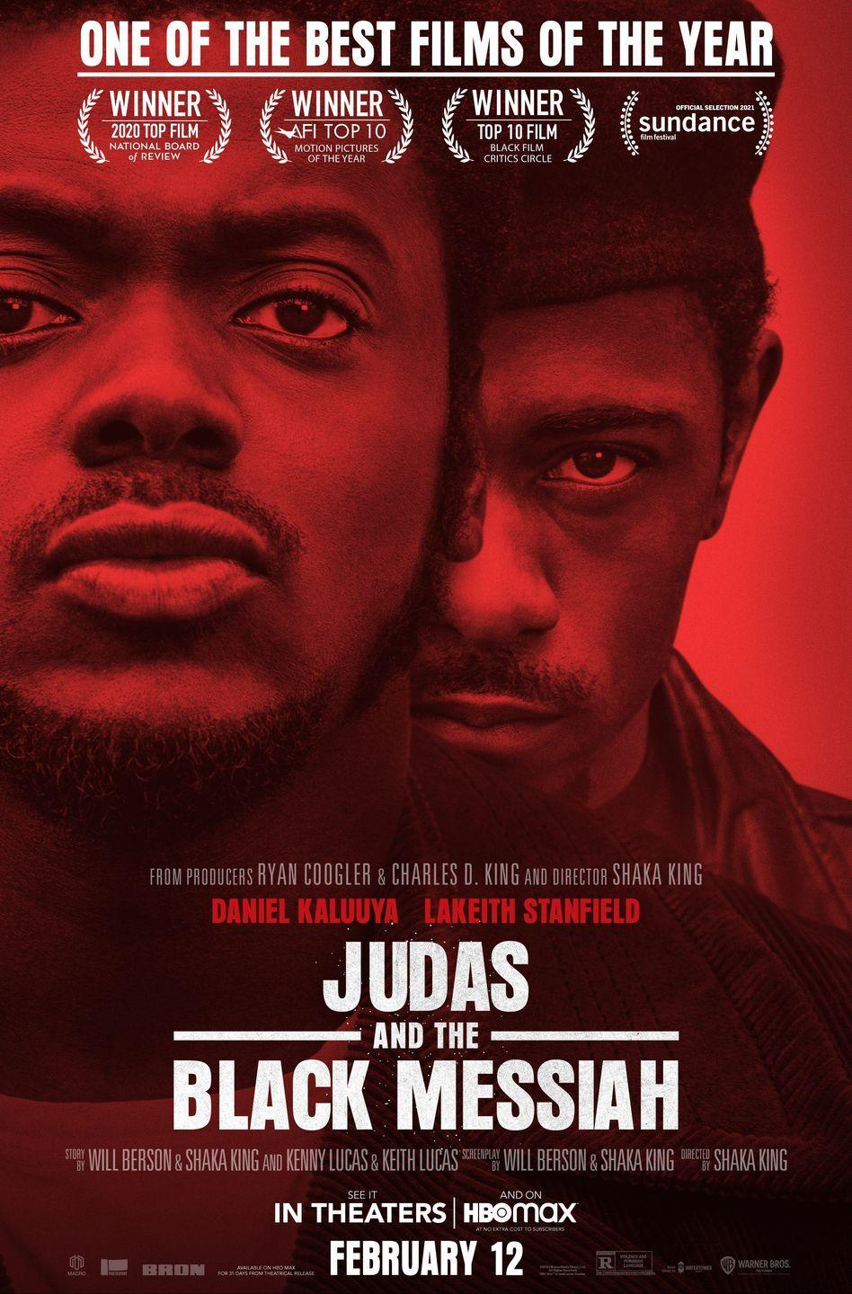 """<p>Earning six Oscar nominations, <em><a href=""""https://www.womenshealthmag.com/life/a35490847/judas-and-the-black-messiah-true-story/"""" rel=""""nofollow noopener"""" target=""""_blank"""" data-ylk=""""slk:Judas and the Black Messiah"""" class=""""link rapid-noclick-resp"""">Judas and the Black Messiah</a></em> became a critically-acclaimed classic as soon as it hit the film scene in early 2021. Daniel Kaluuya plays Fred Hampton, chairman of the Illinois chapter of the Black Panther Party, who is turned in by an FBI informant. </p><p><a class=""""link rapid-noclick-resp"""" href=""""https://www.amazon.com/Judas-Black-Messiah-Daniel-Kaluuya/dp/B0916KJQL7?tag=syn-yahoo-20&ascsubtag=%5Bartid%7C2140.g.27486022%5Bsrc%7Cyahoo-us"""" rel=""""nofollow noopener"""" target=""""_blank"""" data-ylk=""""slk:Watch Here"""">Watch Here</a></p>"""
