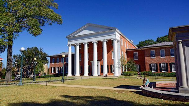 PHOTO: The Lyceum Building is shown on the Ole Miss campus in Oxford, MS. (Dennis MacDonald/Newscom)