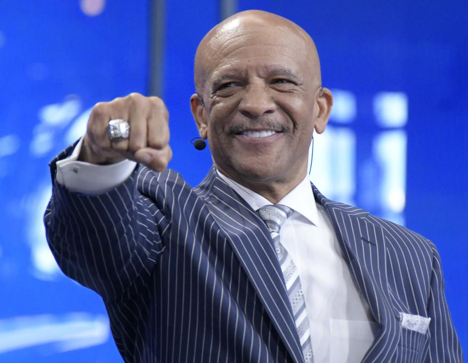 Former Dallas Cowboys wide receiver Drew Pearson is never afraid to defend the only NFL team he ever has known. (Max Faulkner/Fort Worth Star-Telegram/Tribune News Service via Getty Images)