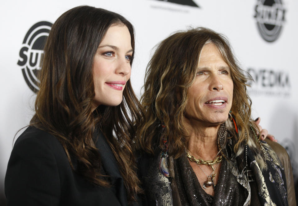 Leva Tyler, who appeared with her father, Aerosmith rocker Steven Tyler, in 2011.  (Photo: Reuters / Fred Prazer)