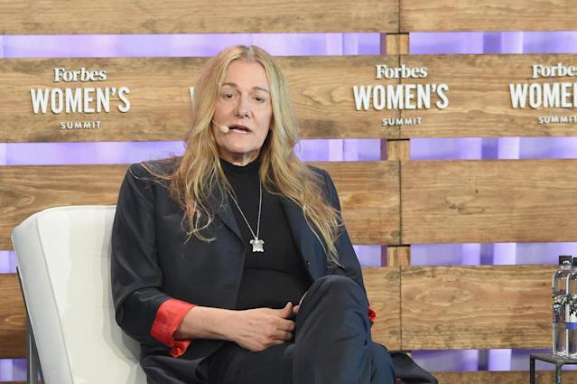 Martine Rothblatt speaks onstage during the 2018 Forbes Women's Summit at Pier Sixty at Chelsea Piers on June 19, 2018 in New York City.