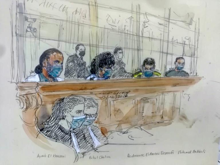 The court ruled that Ayoub El Khazzani, pictured left, would have committed an 'indiscriminate attack'