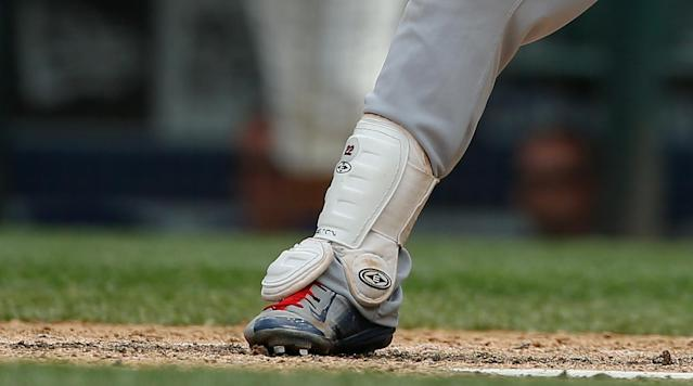 <p>Jason Kipnis is very specific about the shinguard he wears on his right leg. How specific, you may ask? Well, he's worn the same make and model since college. Hell, he won't even wear a different color.</p><p>Kipnis has worn this small, white Easton shinguard since his days at Arizona State. He learned the hard way on Thursday that Easton no longer makes it, when he apparently was unable to order one from the company. That's when, as a last resort, he offered to give memorabilia signed by Francisco Lindor to anyone who would be able to send him the shinguard: </p><p>​As it turns out, the right people got the message, and he was able to secure not one but <em>two</em> shinguards! What a lucky guy.</p><p>Why Easton wouldn't just make a few of these shinguards for a professional baseball player I'll never know. But hey, at least it all worked out for Kipnis in the end.</p>