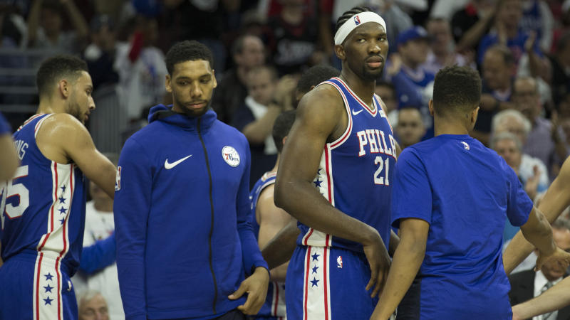 76ers continue efforts to trade Jahlil Okafor