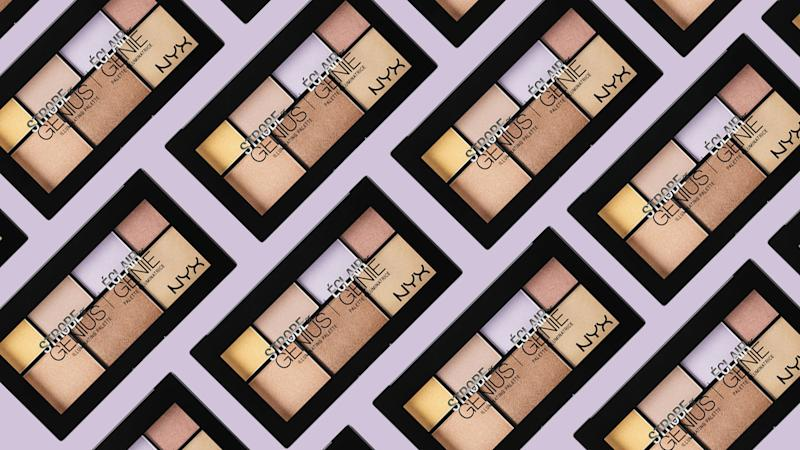 If you love the brand's highlighting palette, then you're going to flip over the NYX Strobe of Genius Holographic Sticks.